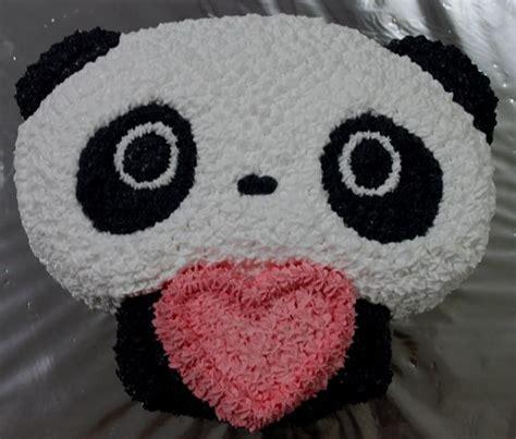 panda cake template pin inspired bakes tare panda cake picture to