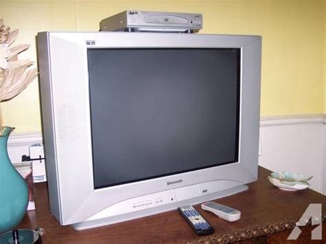 Tv Flat Panasonic 29 panasonic flat panel television dvd player tau 27 quot ct 27sl13g for sale in marion south