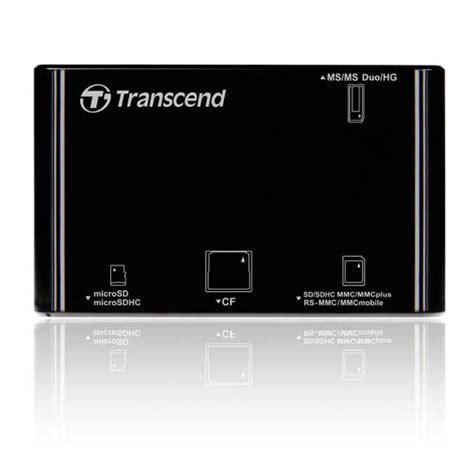 Transcend Card Reader Usb 2 0 Rdp8 transcend card reader rdp8 harga dan spesifikasi