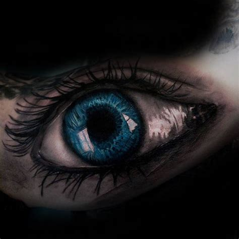 blue eye tattoo 50 realistic eye designs for visionary ink ideas