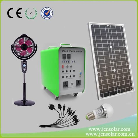 1000w solar power generator system for portable home use