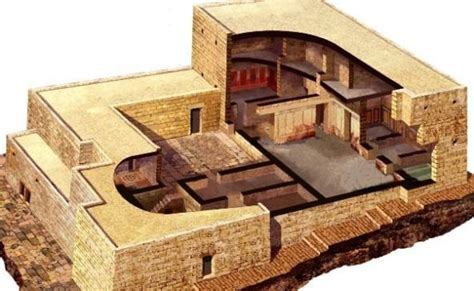 ancient middle eastern homes with flat roofs the buildings jesus knew