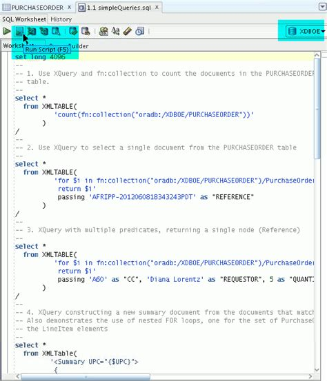 oracle xmltable tutorial searching xml content with xquery full text