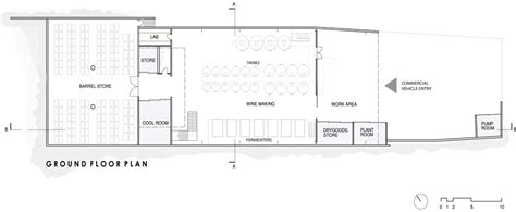winery floor plans medhurst winery by folk architects