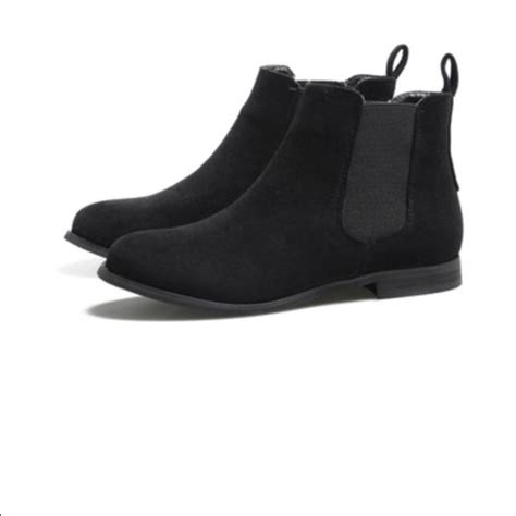 62 h m shoes h m s suede ankle chelsea boots
