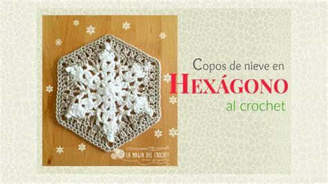 como hacer un caminito al crochet c 243 mo hacer un granny hexagonal con copos de nieve al