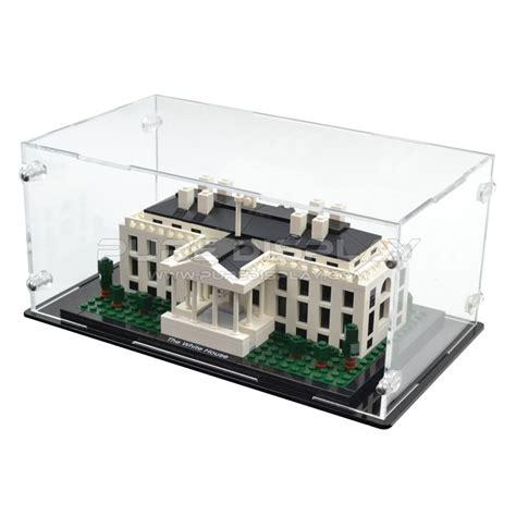 Display Box Lego White lego architecture 21006 white house display