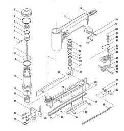 Pneumatic Upholstery Stapler Pneumatic Stapler Diagram Pneumatic Get Free Image About
