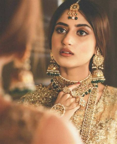 New Bridal Pics by Beautiful Bridal Shoot Of Sajal Ali