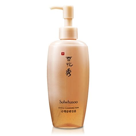 Sulwhasoo Gentle Cleansing 15ml gentle cleansing foam sulwhasoo skincare cosmetics spa