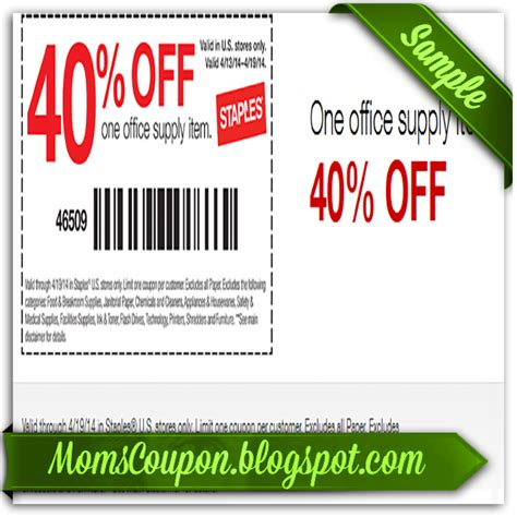 printable coupon html code get more save more with free printable staples coupons
