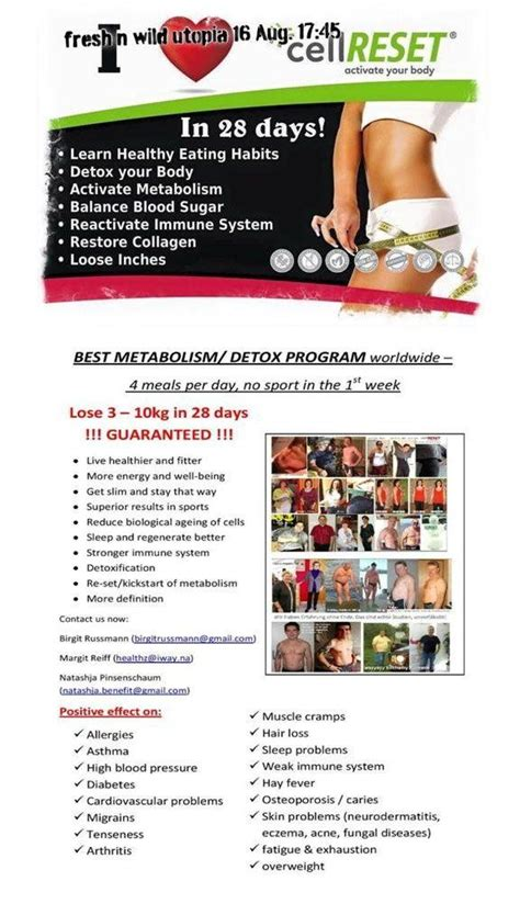 Best Cell Detox by 18 Best Cell Reset Program Images On
