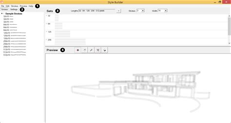 layout sketchup style builder introducing the style builder interface sketchup