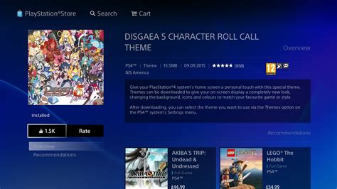 ps4 themes download uk disgaea 5 alliance of vengeance demo out rice digital