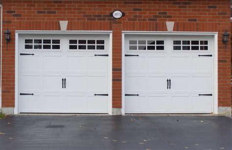 Design Garage Door Inspiring Design Garage Doors With White Wooden Paint Home Interior Exterior