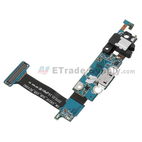 Flexibel Microphone Connector Charger Samsung S6 Edge G925f samsung galaxy s6 edge sm g925f charging port flex cable ribbon etrade supply