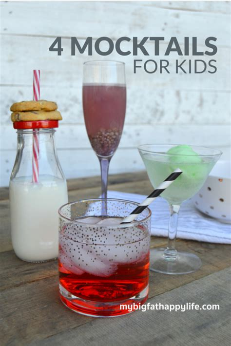 new year mocktail recipes 4 new years mocktails for my big happy