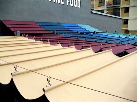 Awning System by Slide Wire Cable Awnings Superior Awning