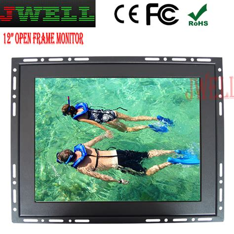 Forsa Led Monitor Touch Screen 12 1 industry monitor 12 1 open frame monitor touch screen