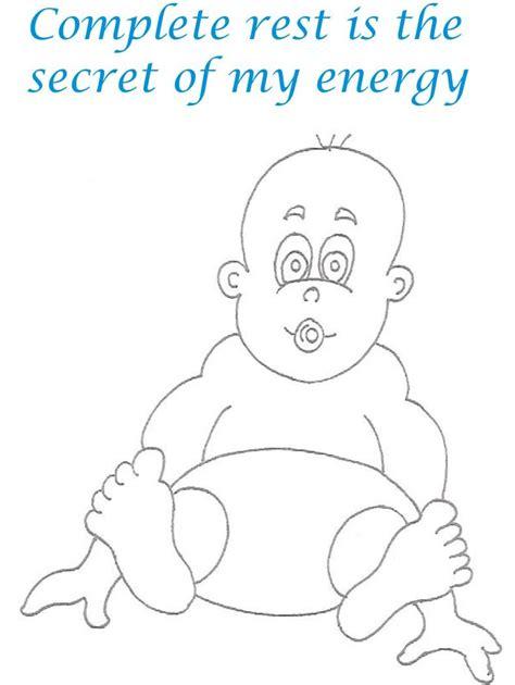 naughty babies coloring printable page for kids 25
