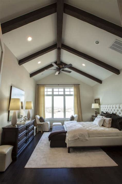 vaulted ceiling bedroom design ideas  inspiration