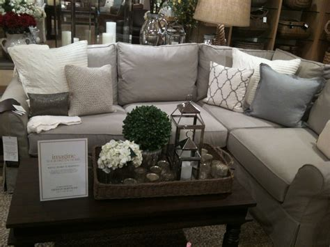 sofa family room living room sofa pottery barn sectional pillows family