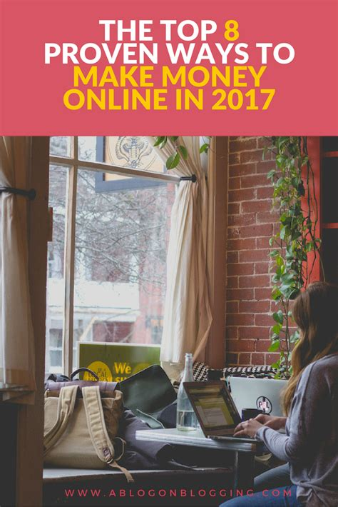 Make Money Online Ways - 8 proven ways to make money online in 2017
