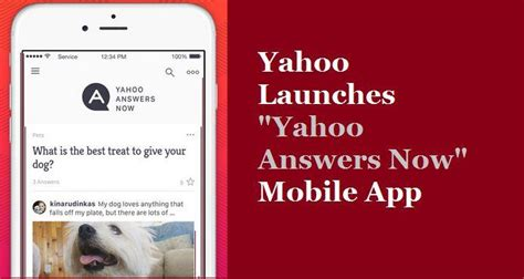 answers yahoo mobile yahoo launches yahoo answers now mobile app the generic whiz