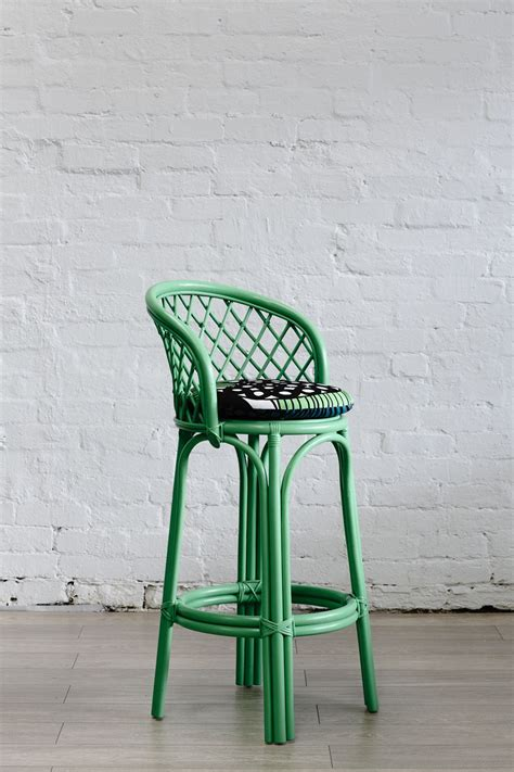 Apple Bar Stools by Shop What S New Bar Stools Apple Green Rattan Bar