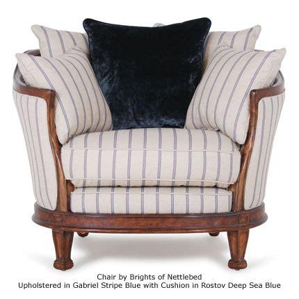 Gabriel Stripe ian sanderson upholstery and curtain fabrics
