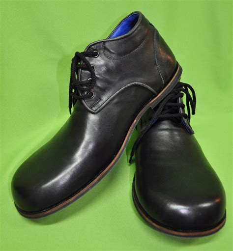 clown shoes for zyko professional real leather clown shoes chaplin black
