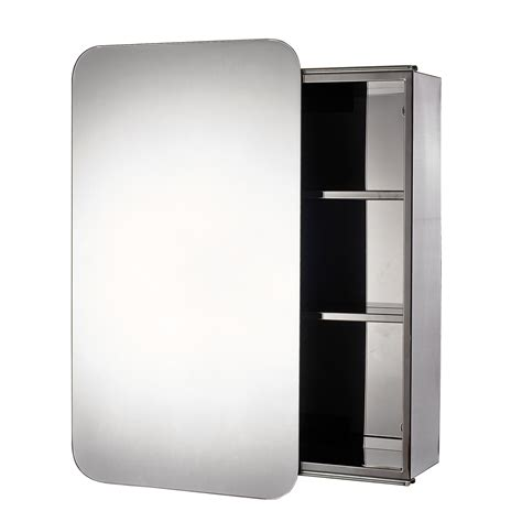 buy stainless steel quot sanremo quot sliding door bathroom mirror