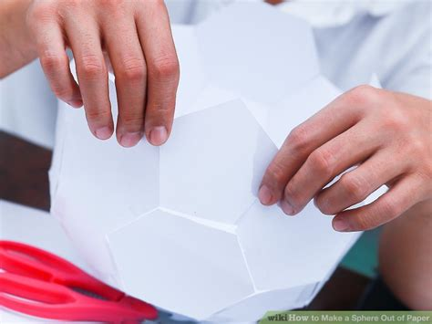 Make A Sphere Out Of Paper - 3 ways to make a sphere out of paper wikihow