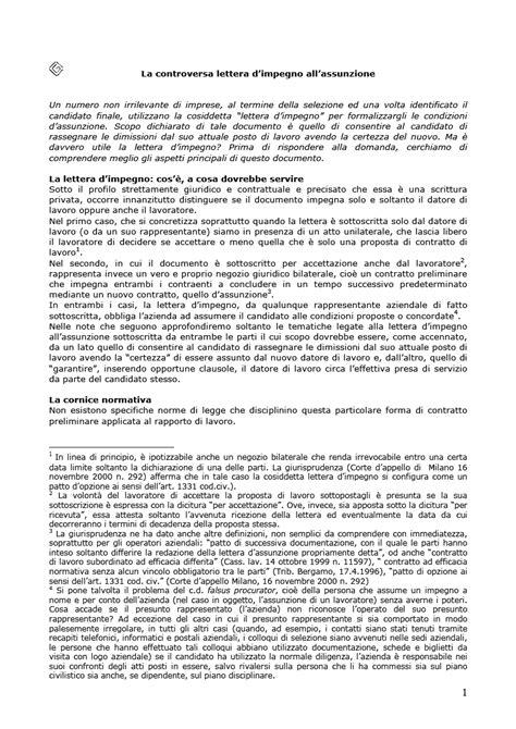 lettere di assunzione la controversa lettera di impegno all assunzione adlabor