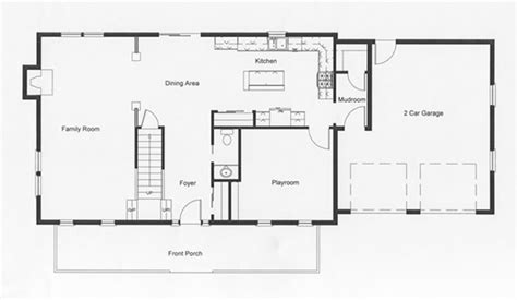 One Car Garage Ideas 2 story colonial floor plans monmouth county ocean county