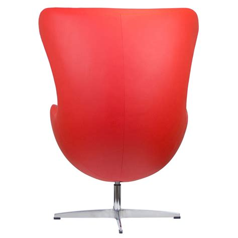 Modern Egg Chair by Ifn Modern Kt430 Genuine Leather Egg Style Chair