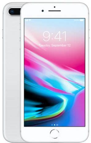 apple iphone 8 plus with facetime 64gb 4g lte silver souq uae