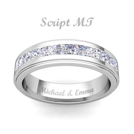 wedding ring engraving free ring engraving engravable rings my wedding ring