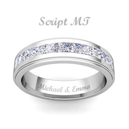 Free Ring Engraving, Engravable Rings   My Love Wedding Ring