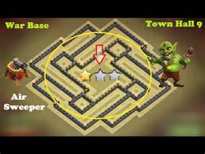 Town hall 9 base 2015 clash of clans epic defense base strategy t