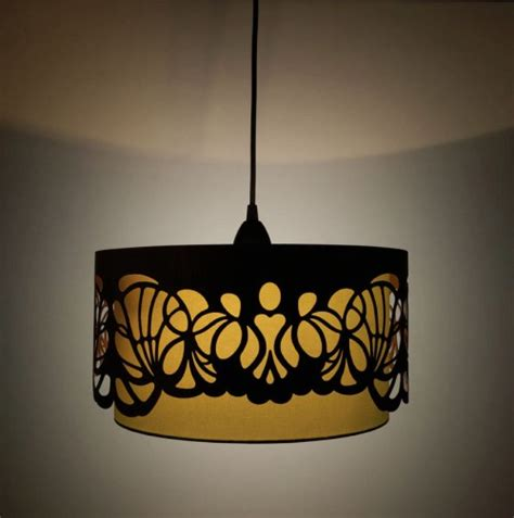 Handmade Light Shade - laser cut wooden lshades design milk