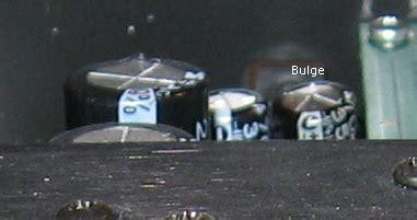 bulging capacitor ac delta 1010 capacitor repair
