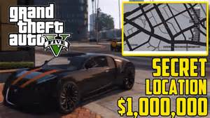Gta 5 Bugatti Veyron Location Gta 5 Secret Cars Bugatti Veyron 1 000 000 Car Grand