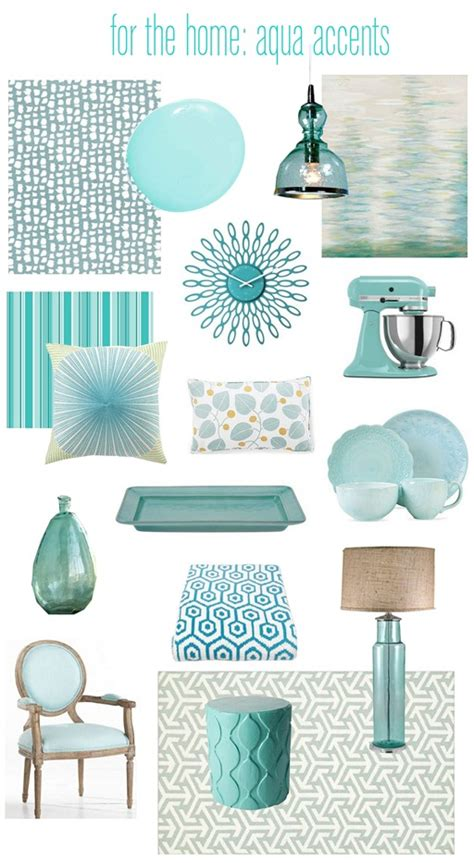 Aqua Colored Home Decor by Aqua Colored Home Decor 28 Images Color Series