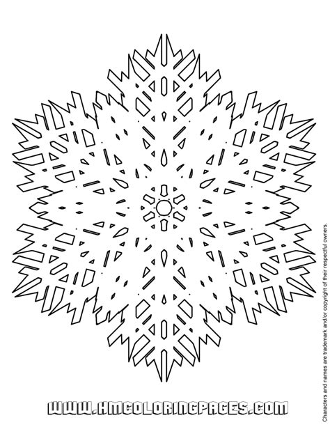 giant snowflake coloring page snowflake patterns to trace coloring home