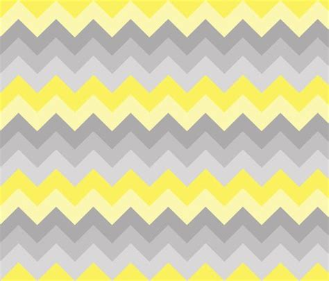 yellow ombre pattern yellow grey gray ombre chevron larger size fabric dec