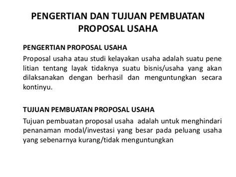 tujuan membuat proposal adalah pembuatan proposal usaha bussines plan