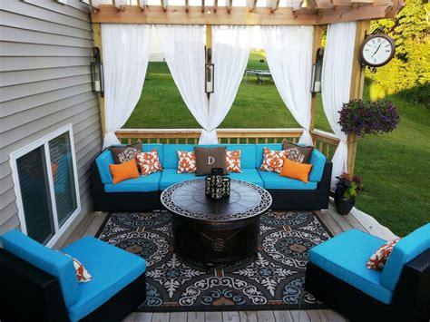 Outdoor Gazebo Curtains 1 Outdoor Gazebo Patio Sheer Velcro Tab Top Window Panel