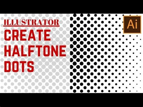 dot pattern tutorial illustrator create a halftone dot pattern in illustrator turn a