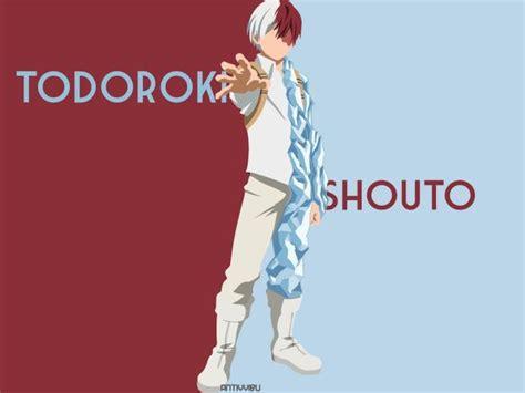 shoto todoroki wallpaper hd anime  wallpapers images